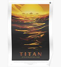 NASA Tourism - Titan Poster