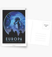NASA Tourismus - Europa Postkarten