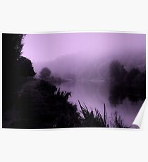 misty morning velvet Poster
