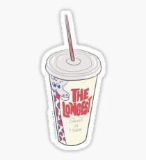 Hand Drawn New Zealand Milkshake Sticker
