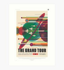 NASA Tourism - Grand Tour Art Print