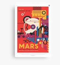 NASA Tourism - Mars Canvas Print