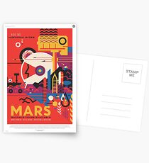 NASA Tourism - Mars Postcards