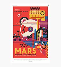 NASA Tourism - Mars Photographic Print