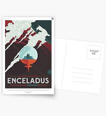 NASA Tourismus - Enceladus Postkarten