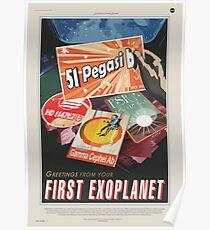 NASA Tourism - 51 Pegasi b Poster