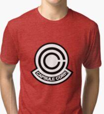 Capsule Corp. Logo Tri-blend T-Shirt
