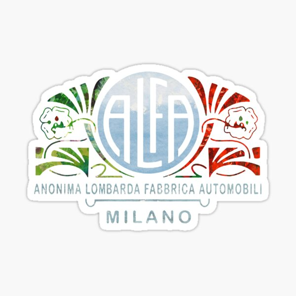 Alfa Romeo Pegatina