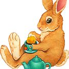 « Tea Time Bunny » par comfykindness