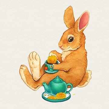 Tea Time Bunny de comfykindness