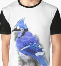 Mordecai the Blue Jay Graphic T-Shirt