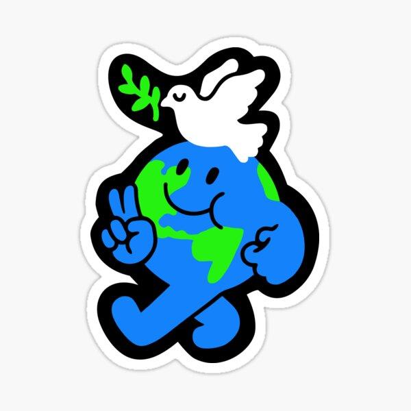 Peace On Earth Sticker