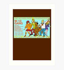 Warehouse 13 / Scooby Gang Art Print