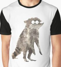 Rigby The Racoon Graphic T-Shirt