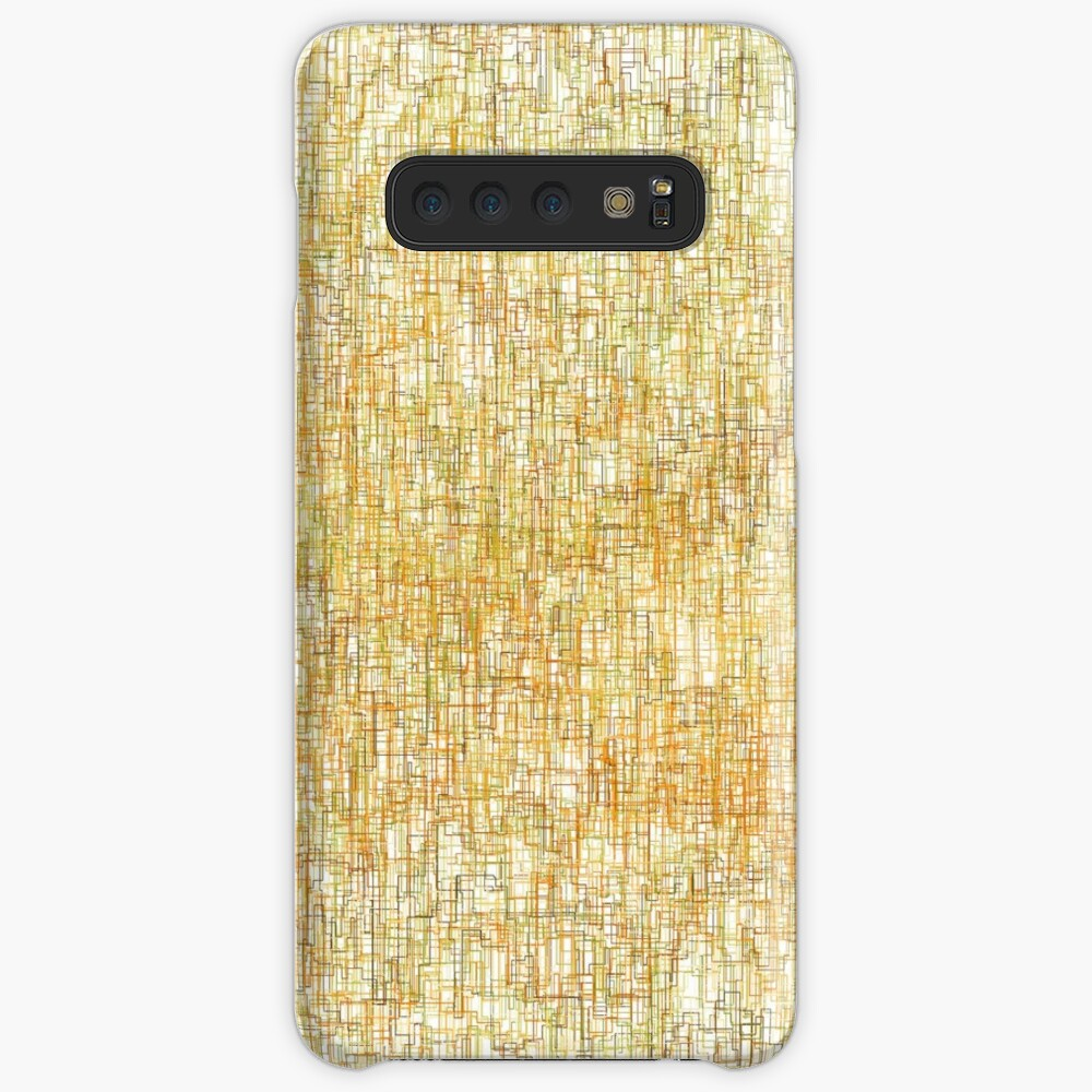 Squiggly Lines Case & Skin for Samsung Galaxy