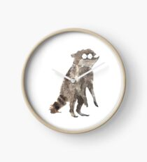 Rigby The Racoon Clock