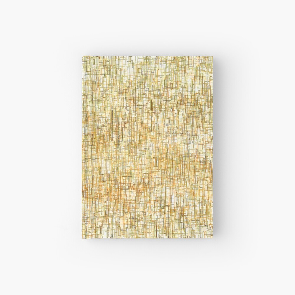 Squiggly Lines Hardcover Journal