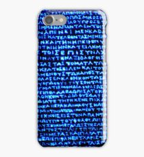 Ancient Greek iPhone Case/Skin