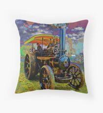 Steam Fair Throw Pillow