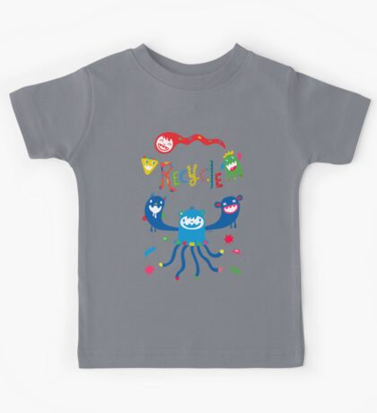 Recycle Monsters   Kids Clothes