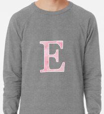 Pink Watercolor Ε Lightweight Sweatshirt