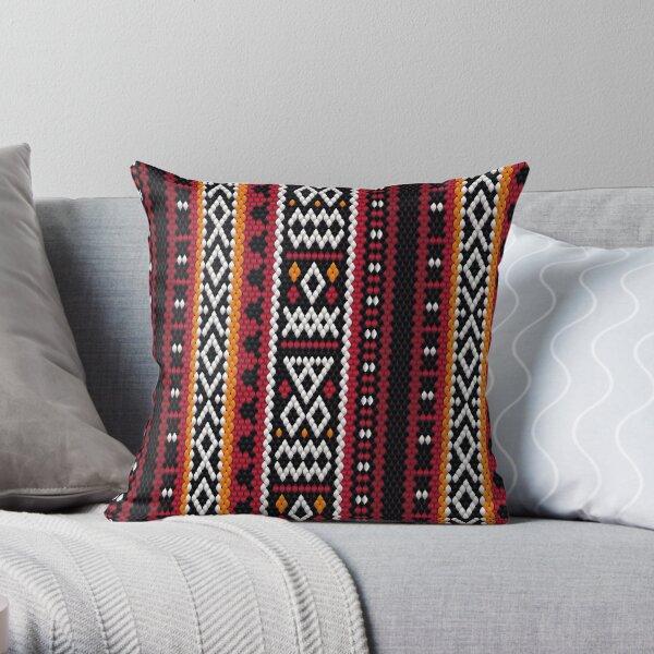 Al Sadu Fabric Throw Pillow