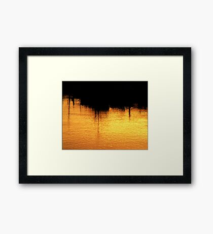 A Turner In The Fraser Framed Print