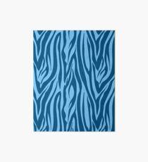 Blaue Zebrastreifen Galeriedruck