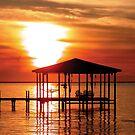 Sunset Dock by Aden Albert