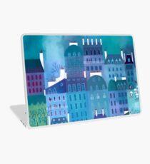 Paris Blues Painting Laptop Skin