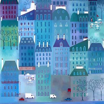 Paris Blues Painting by squirrell