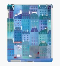 Paris Blues Painting iPad Case/Skin