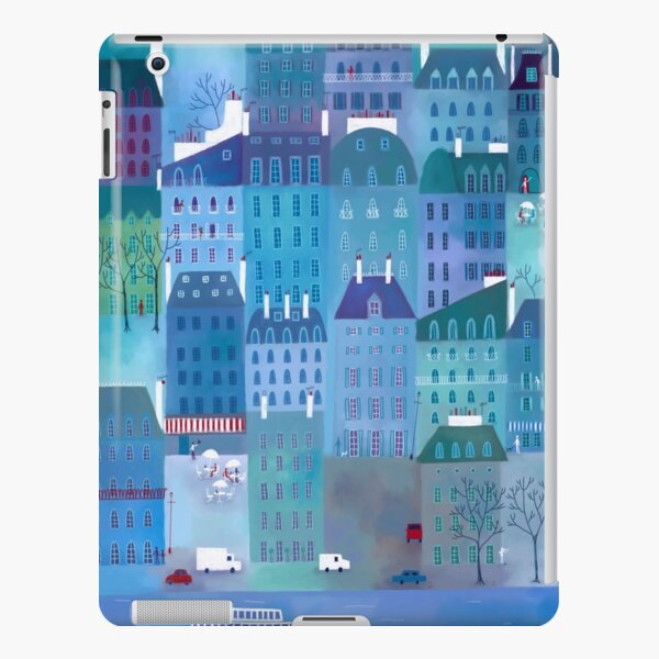 Paris Blues iPad Snap Case