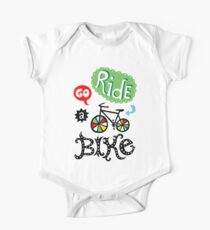 Go Ride a Bike   One Piece - Short Sleeve