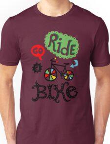 Go Ride a Bike   T-Shirt