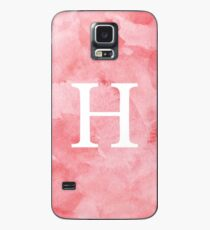 Rouge Watercolor Η Case/Skin for Samsung Galaxy