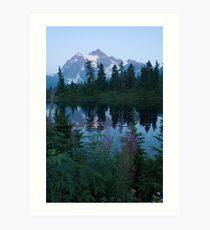 Picture Lake Art Print