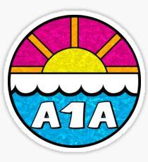Florida Route A1A Daytona Beach West Palm Key West Melbourne Jacksonville Saint Augustine Miami Sticker