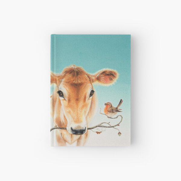Calf and bird by Maria Tiqwah Hardcover Journal