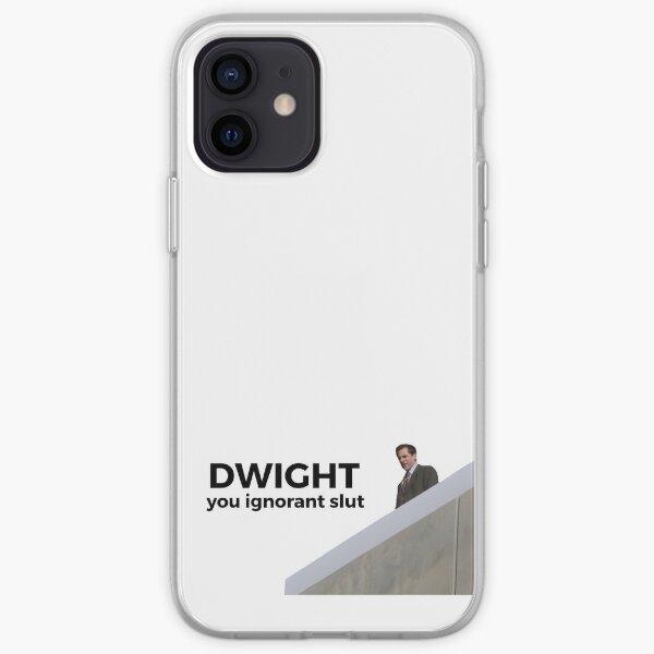 Dwight, You Ignorant Slut - The Office (EE. UU.) Funda blanda para iPhone