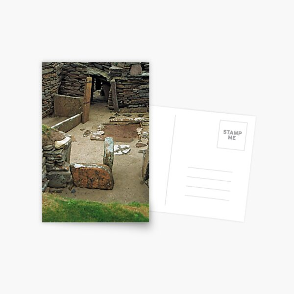 Skara Brae 1 Postcard