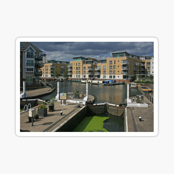 Brentford Lock Sticker
