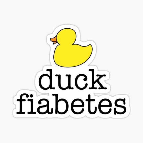 Diabète de canard Sticker