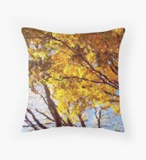 Flaming Trees / Throw Pillow