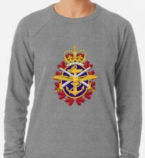 Badge of Canadian Armed Forces Lightweight Sweatshirt