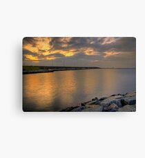 Bay Bridge at Sunrise Canvas Print
