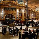 Flinders Street Station by Cliff Vestergaard