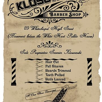 Vintage Barber Shop - Flyer by theheadshed