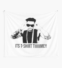 DJ Pauly D T-shirt Time Wall Tapestry