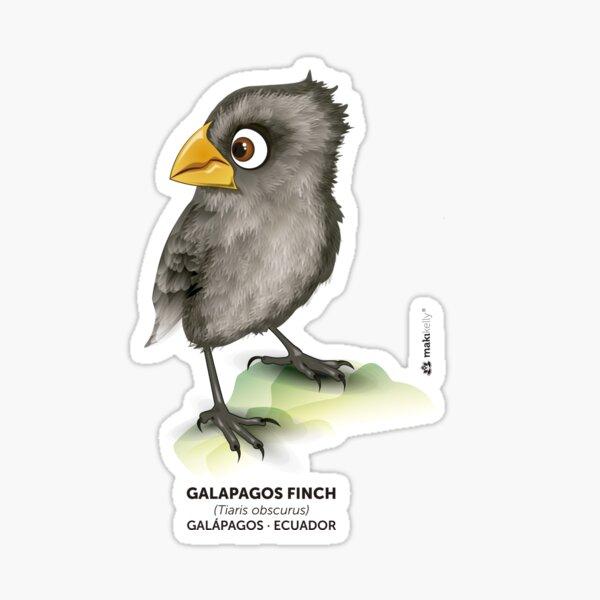 Galápagos Finch Sticker